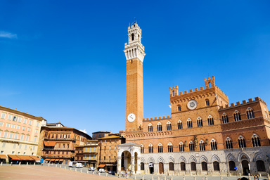 Main Square Of Siena
